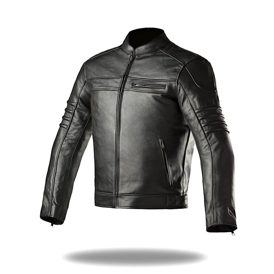 Bela Marlon Bikers Leather Jacket - Black - DublinLeather