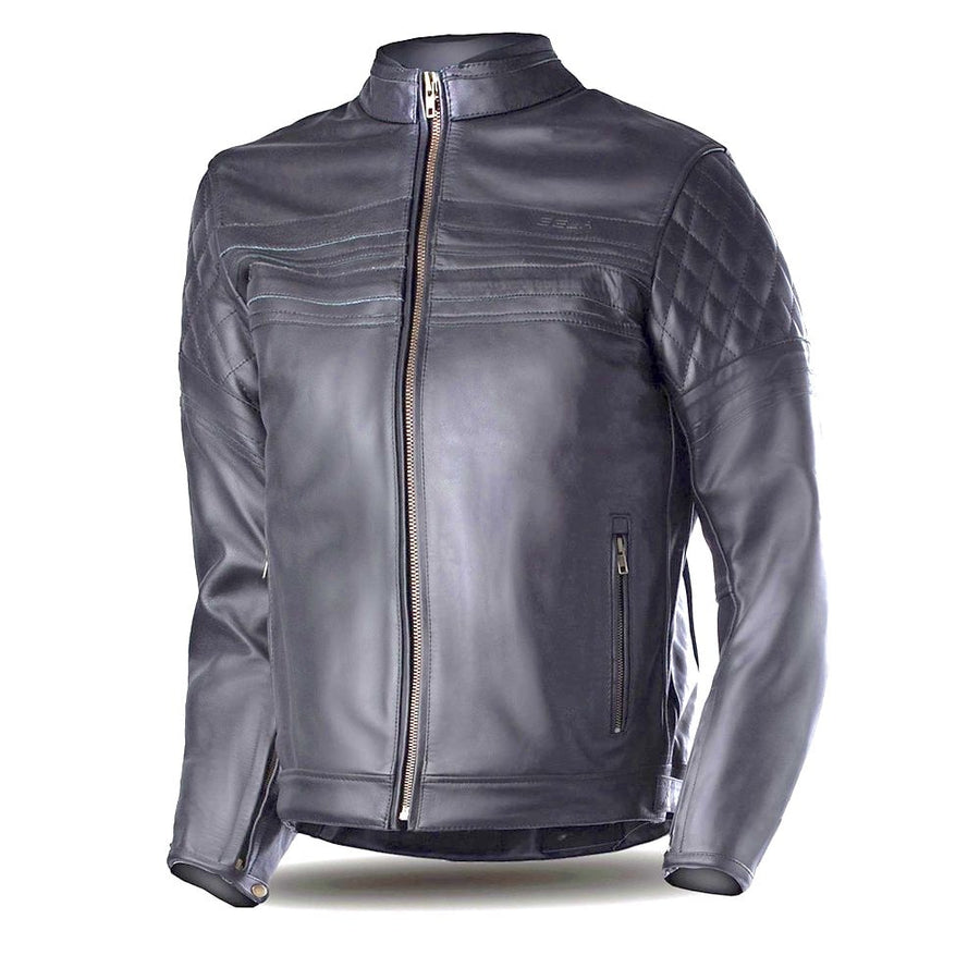 Bela Merlin Bikers Leather Jacket - Black - DublinLeather