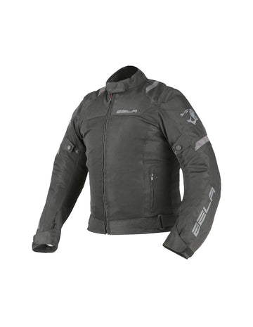 Bela Mesh Pro Mens Motorcycle Summer Textile Jacket - Black