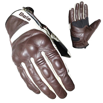 Bela Mobster Motorbike Leather Gloves - DublinLeather