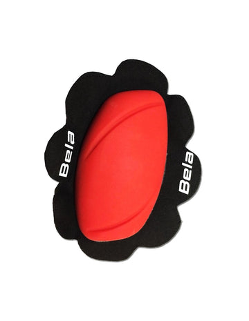 Bela Pro Riding/Racing Knee Slider (2pc) - Red - DublinLeather