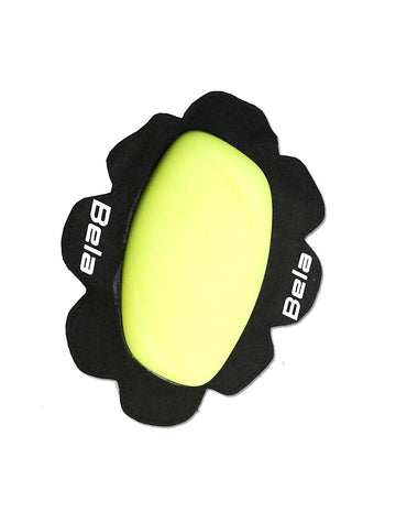 Bela Pro Riding/Racing Knee Slider (2pc) - Fluro Yellow - DublinLeather