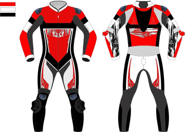 Motorcycle Custom Leathers - Option M