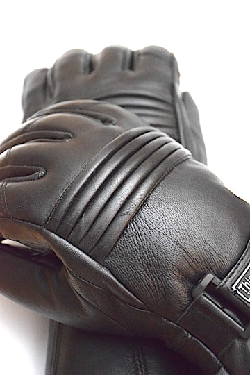 Genuine Leather MotorBike Gloves - DublinLeather