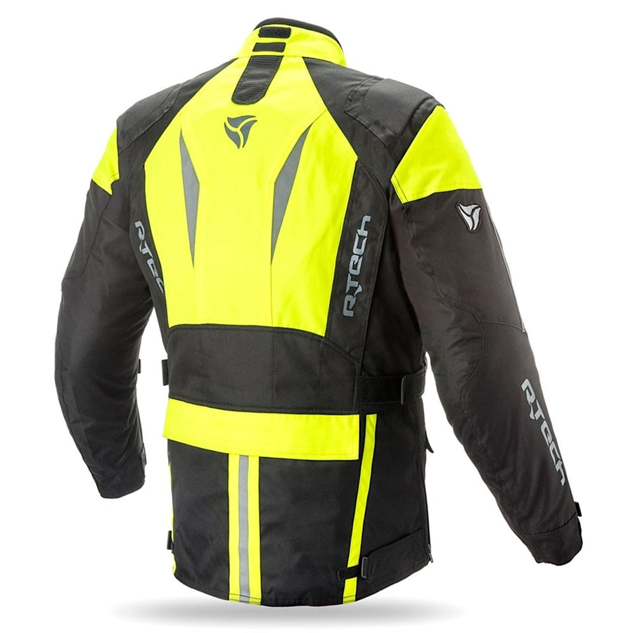 R-Tech Cooper All Season Motorcycle Touring Waterproof Textile Jacket - DublinLeather