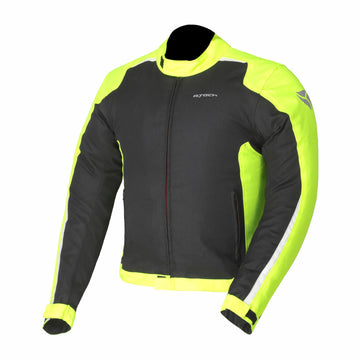 R-Tech-Motril-Mens-Black-Fluro-Yellow-Textile-Motorcycle-Jacket-Dublin-Leathers-Online-Sale-Ireland-UK