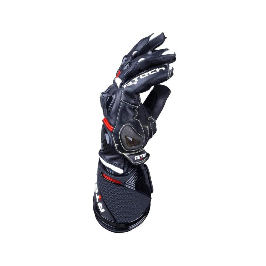 R-Tech Robo Lady Motorcycle Racing Leather Gloves (Black/Red) - Touch Screen Sale Online Dublin Leather Ireland UK Germany Europe