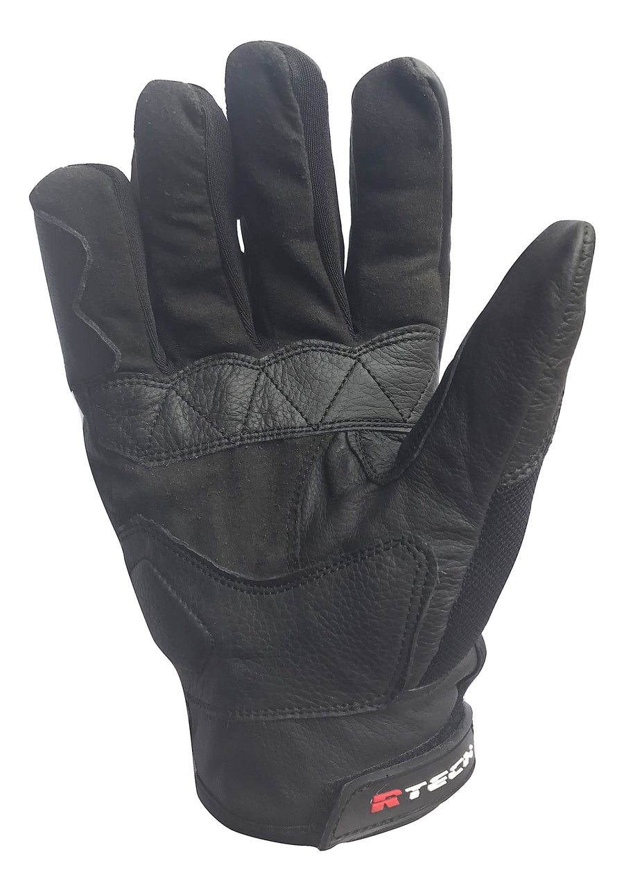 R-Tech Motorbike Tech Leather Gloves - DublinLeather