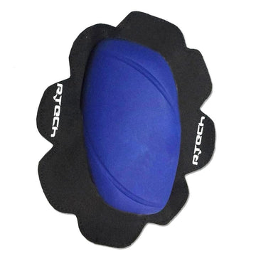 R-Tech Pro Track/Racing Knee Slider (2pc) - Blue - DublinLeather