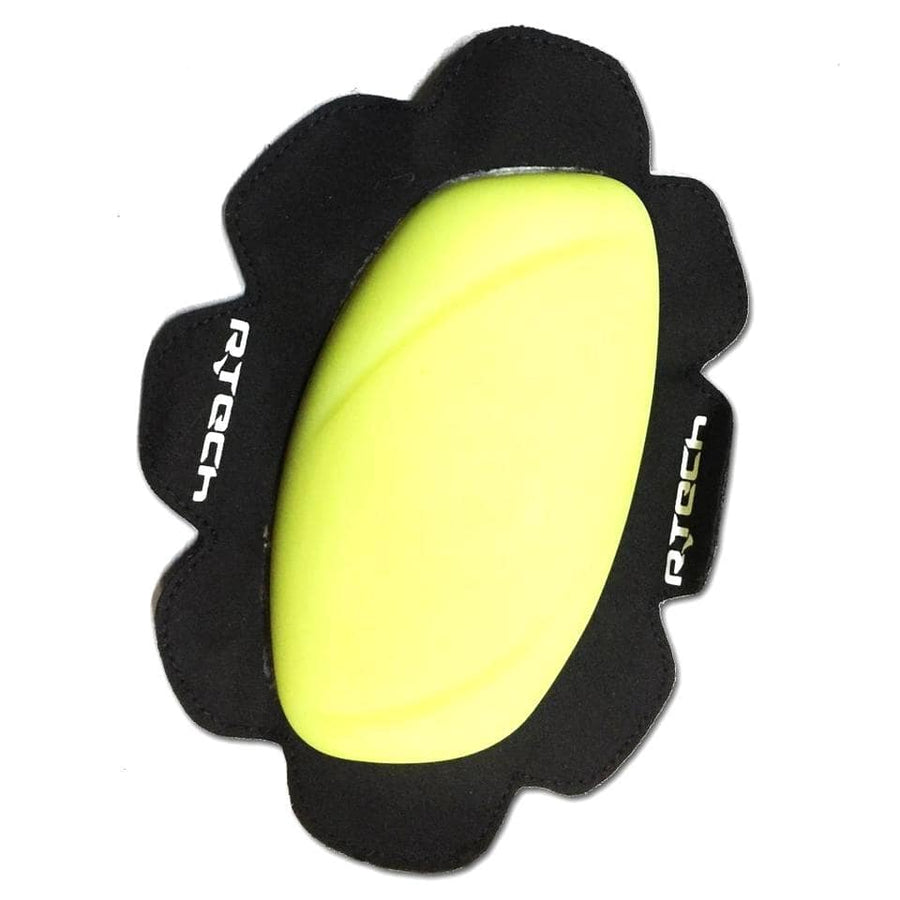 R-Tech Pro Track/Racing Knee Slider (2pc) - Fluro Yellow - DublinLeather