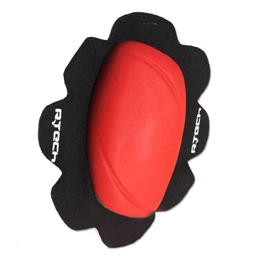R-Tech Pro Track/Racing Knee Slider (2pc) - Red - DublinLeather