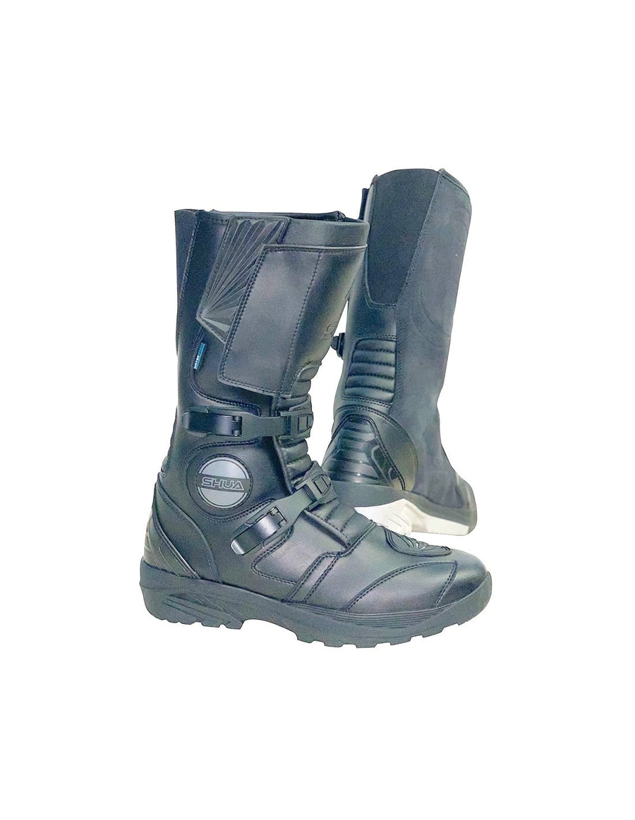 Shua Discovery Adventure Long Waterproof Touring Boots - DublinLeather