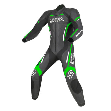 Shua Infinity one piece motorcycle leather suit Dublin Ireland UK