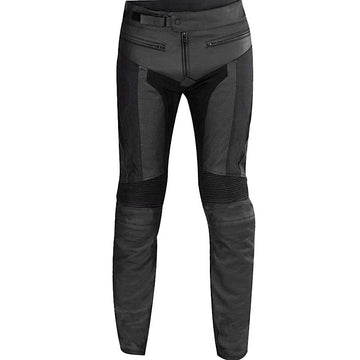 Spyke LF Mens Motorcycle Cowhide Leather Riding Pants - DublinLeather