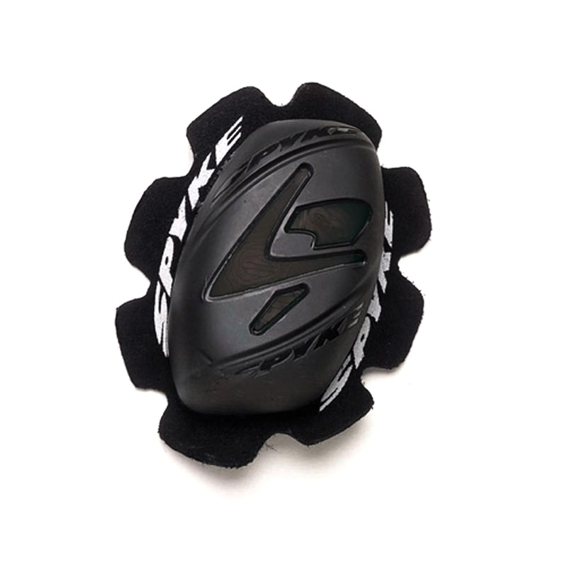 Spyke Track Knee Slider (2pc) - Black - DublinLeather