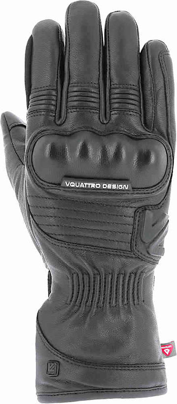 VQuattro Eagle Rider Motorcycle Winter Waterproof Leather Gloves - Touch Screen