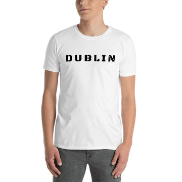 Short-Sleeve Unisex T-Shirt - Dublin Text - DublinLeather