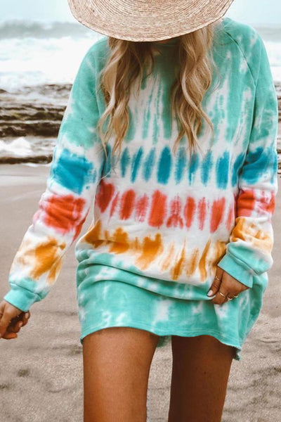 Gentry - Tie Dye Long Sleeve Tunic