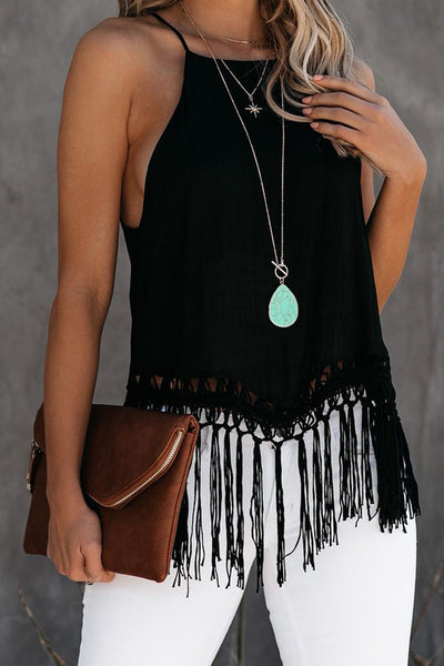 Jocelyn - Fringe Camisole Top