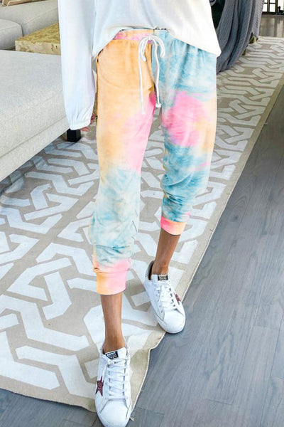Skyy - Watercolor Tie Dye Joggers