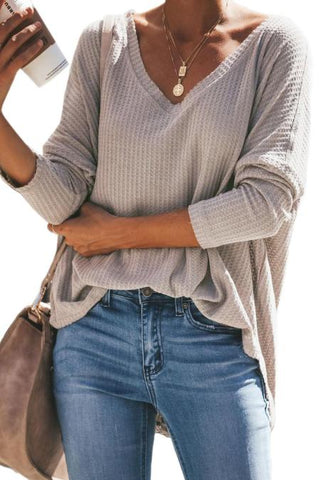 Delia - Knitted Relaxed Thermal Top
