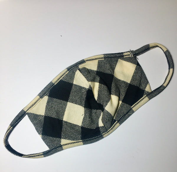 SS Buffalo Plaid Face Mask