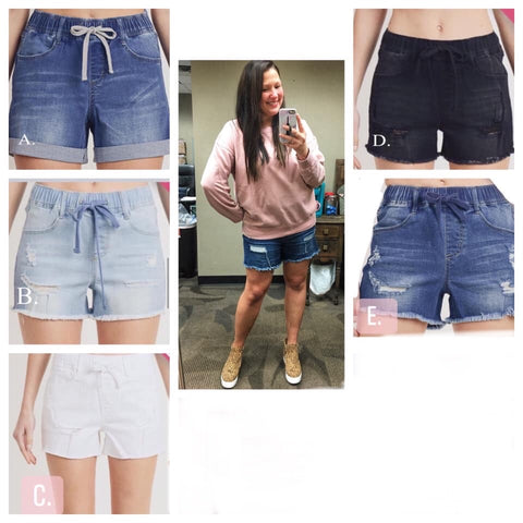 Tessa - Drawstring Shorts
