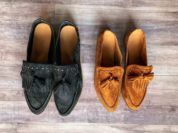 Margo - Tassel Loafers