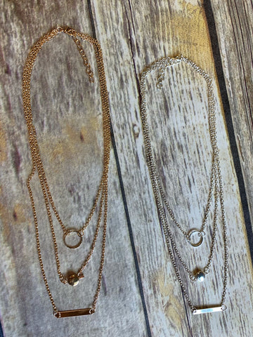 3066 - Charm Layered Necklace