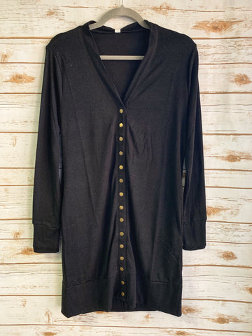 Halle - Button Up Long Cardigan