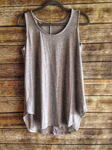 Lane - Relaxed Round Neck Tank