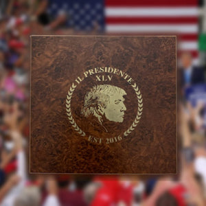 LIMITED: Historic Trump 2016 Humidor with Premium Trump Cigars