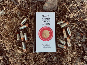 LIVE Trump .45 ACP Ammo (Made in the USA)