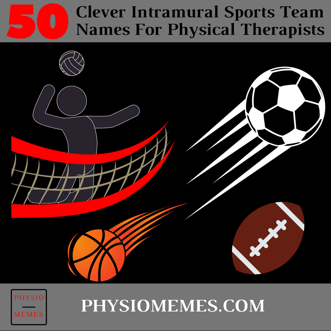 Top 50 Clever Intramural Sports Team Names For Physical