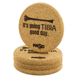 Coasters It's Going Tibia Good Day Coasters - Physio Memes