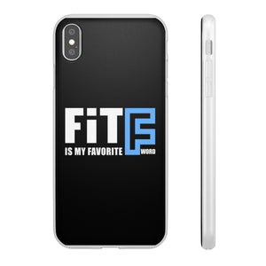 "Fit is My Favorite ""F"" Word Flexi Phone Cases"