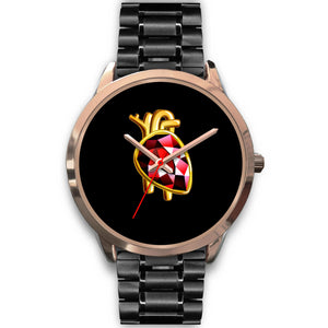 Anatomical Heart Watch (Rose Gold)