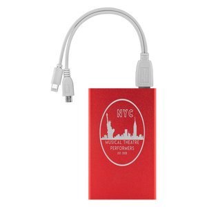 NYC Musical Theatre Performers Power Bank