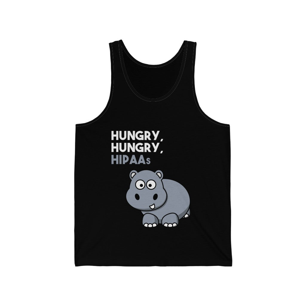 Tank Top Hungry, Hungry, HIPAAs Men's Tank - Physio Memes