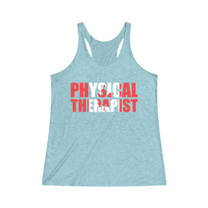 Physical Therapist (Canadian Flag) Women's Racerback Tank