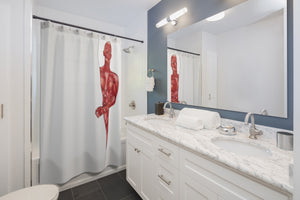 Anatomy Shower Curtain (Muscles)