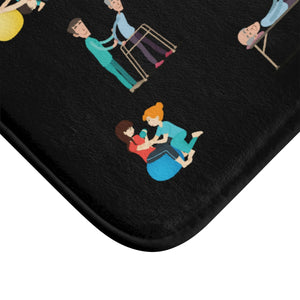 Physical Therapy Bath Mat