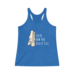 Talus How You Really Feel Women's Racerback Tank