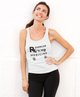 Exercise is My Medicine (Barbell) Racerback Tank