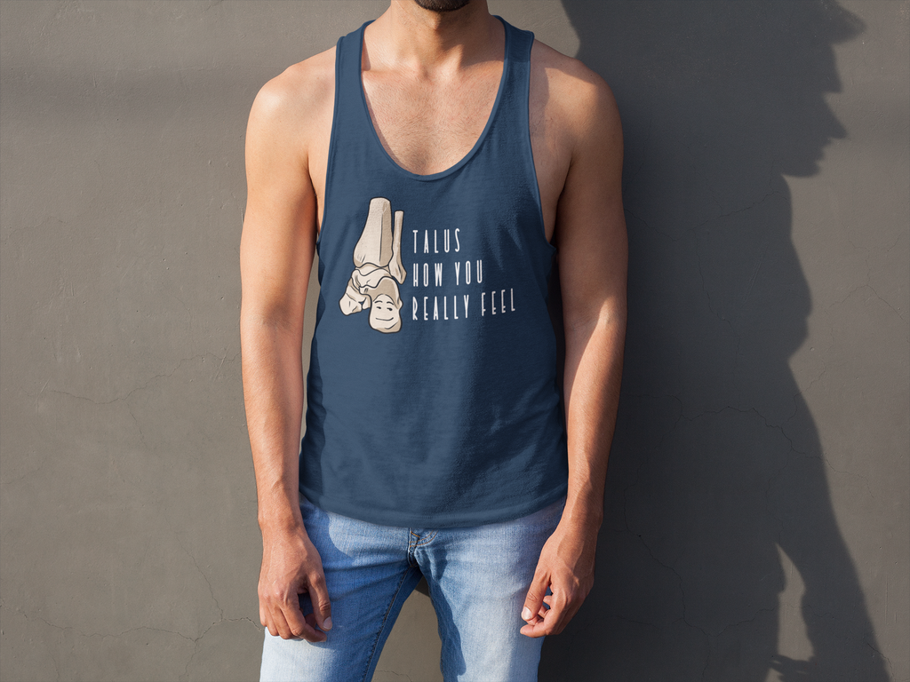 Tank Top Talus How You Really Feel Men's Tank - Physio Memes
