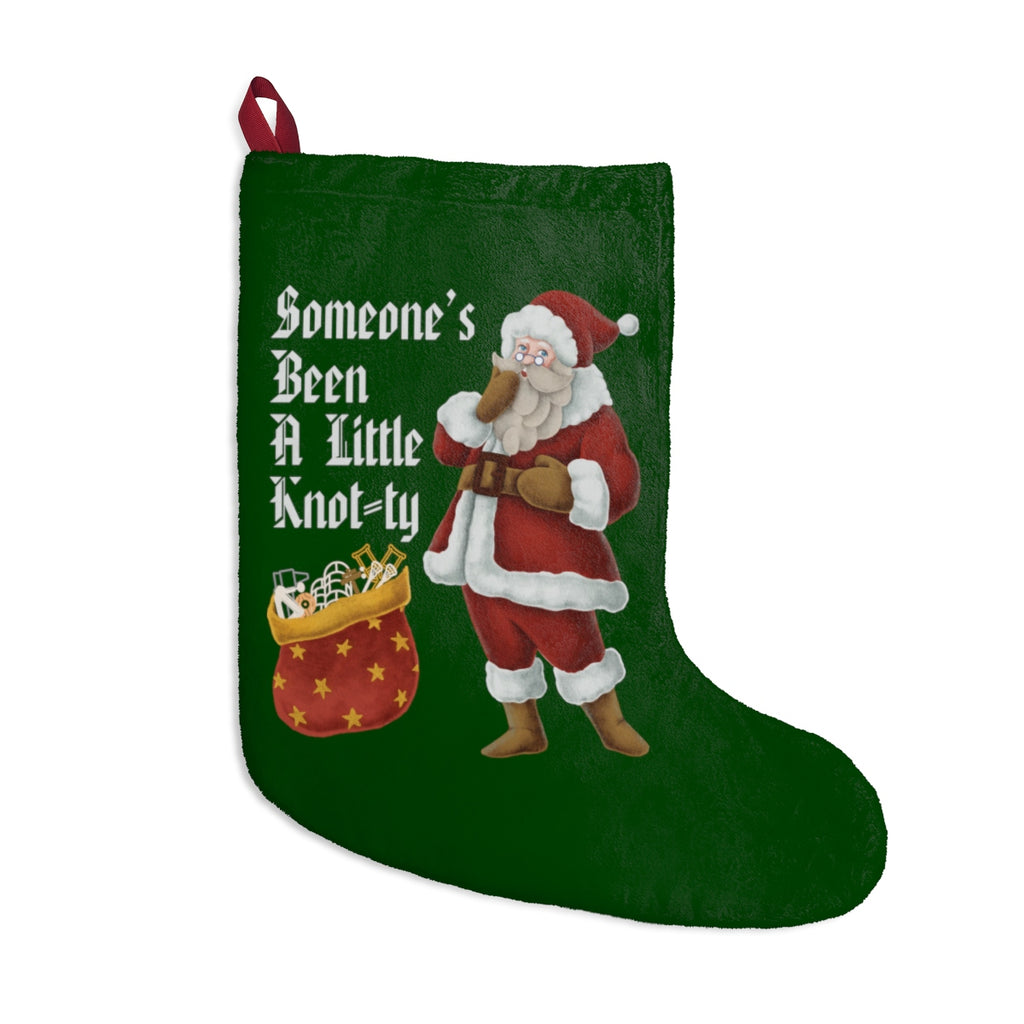 Home Decor Someone's Been A Little Knot-ty Christmas Stockings - Physio Memes