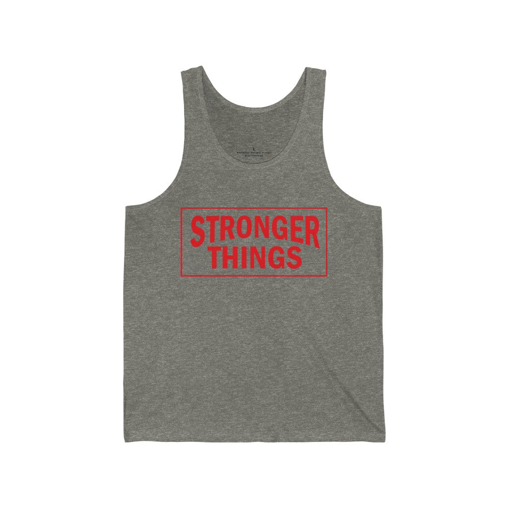 Tank Top Stronger Things Men's Tank - Physio Memes