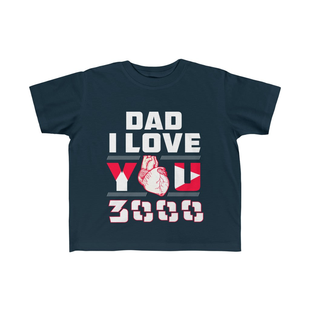 Kids clothes Dad I Love You 3000 Kid's Shirt - Physio Memes