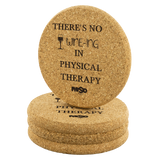 Coasters There's No Wine-ing in PT Coasters - Physio Memes