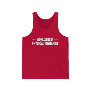 World's Best Physical Therapist Men's Tank